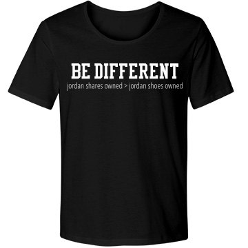 Men's Be Different #1 T-Shirt